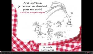 La Ronde des Légumes - Christine Bouguet-Joyeux Youtube